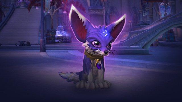 你最狐靈精怪的寵物!幻影這隻大耳狐狸會陪伴著你,與你一同征戰