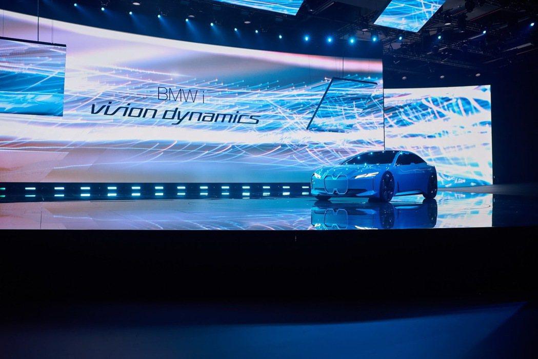 BMW i Vision Dynamics呈現了力與美的核心價值。 摘自BMW