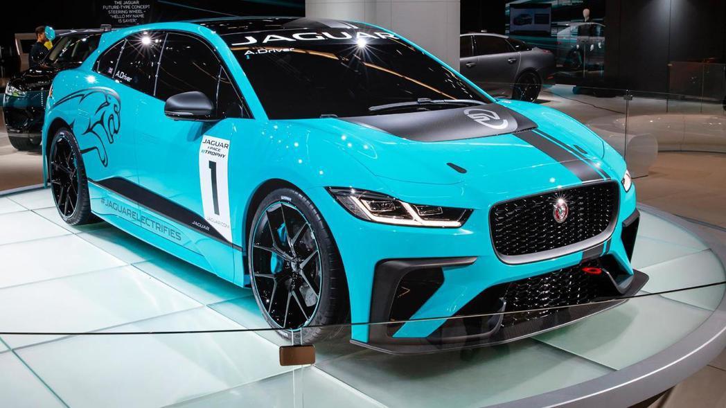 Jaguar I-Pace eTrophy看來殺氣騰騰。 摘自Jaguar