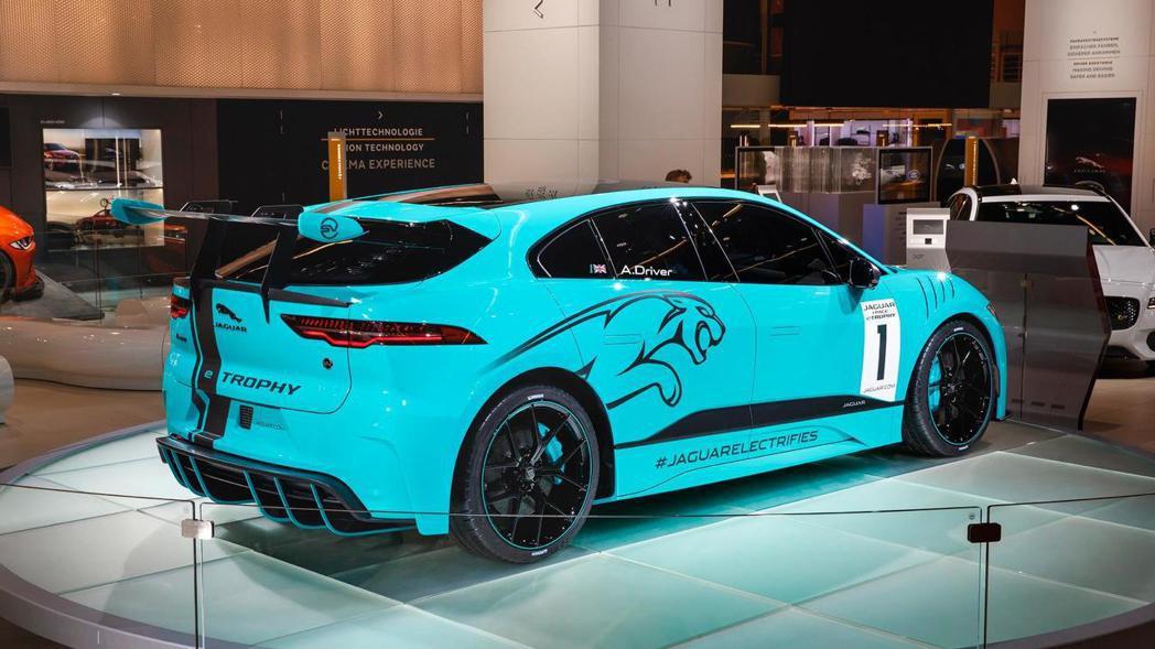 Jaguar I-Pace eTrophy。 摘自Jaguar