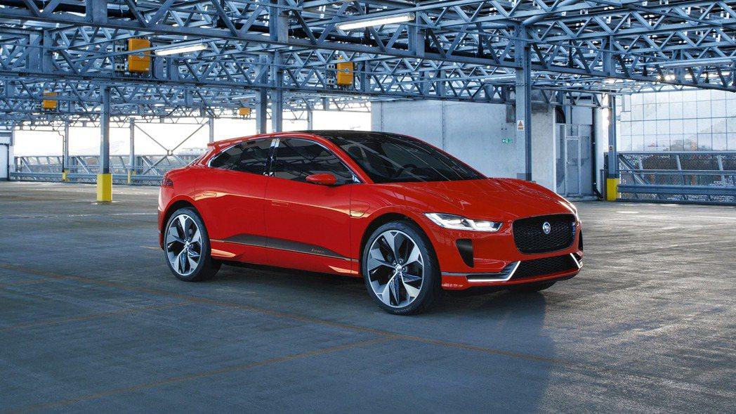 Jaguar I-Pace今年底將在歐洲上市。 摘自Jaguar