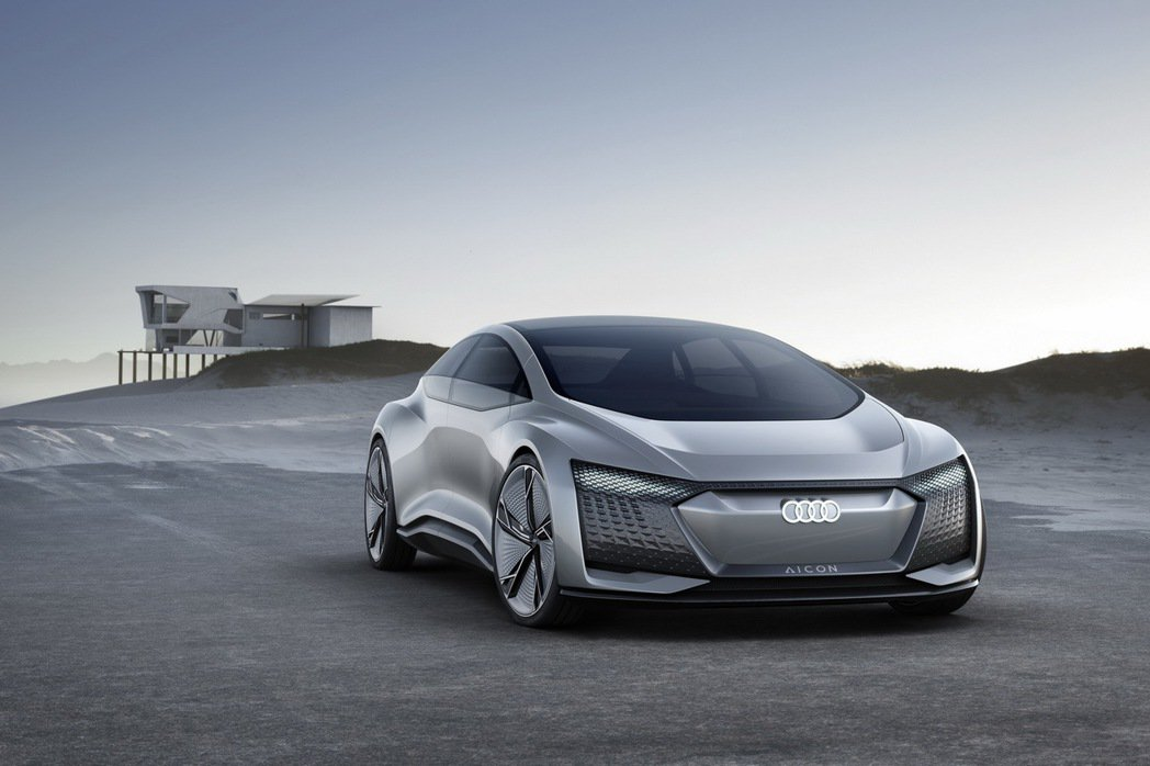 Audi Aicon concept car預演Level 5自動駕駛車輛新面貌。 圖/台灣奧迪提供