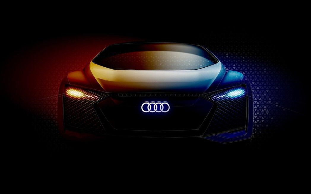 AUDI AG續寫自動駕駛領域新篇章,最新Audi AI自動駕駛概念車向全球預演未來汽車移動新面貌。 圖/台灣奧迪提供