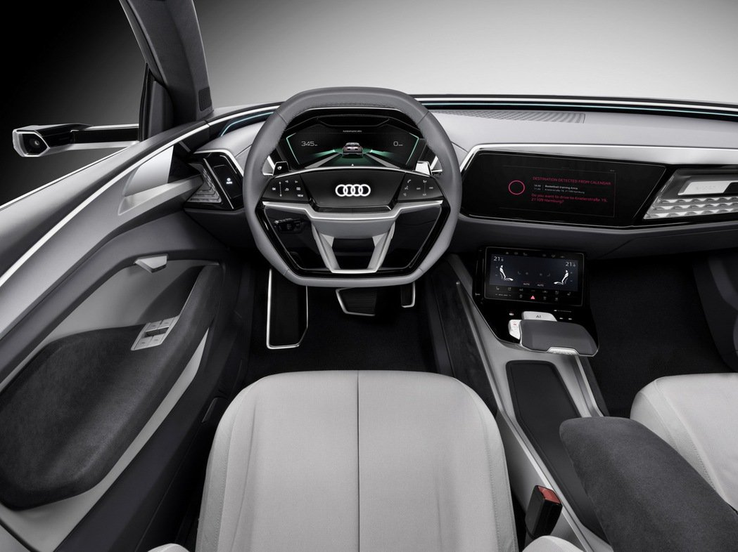 Audi Elaine導入最新Personal intelligent assistant個人化智慧秘書,整合駕駛使用資訊的觀察研究。 圖/台灣奧迪提供