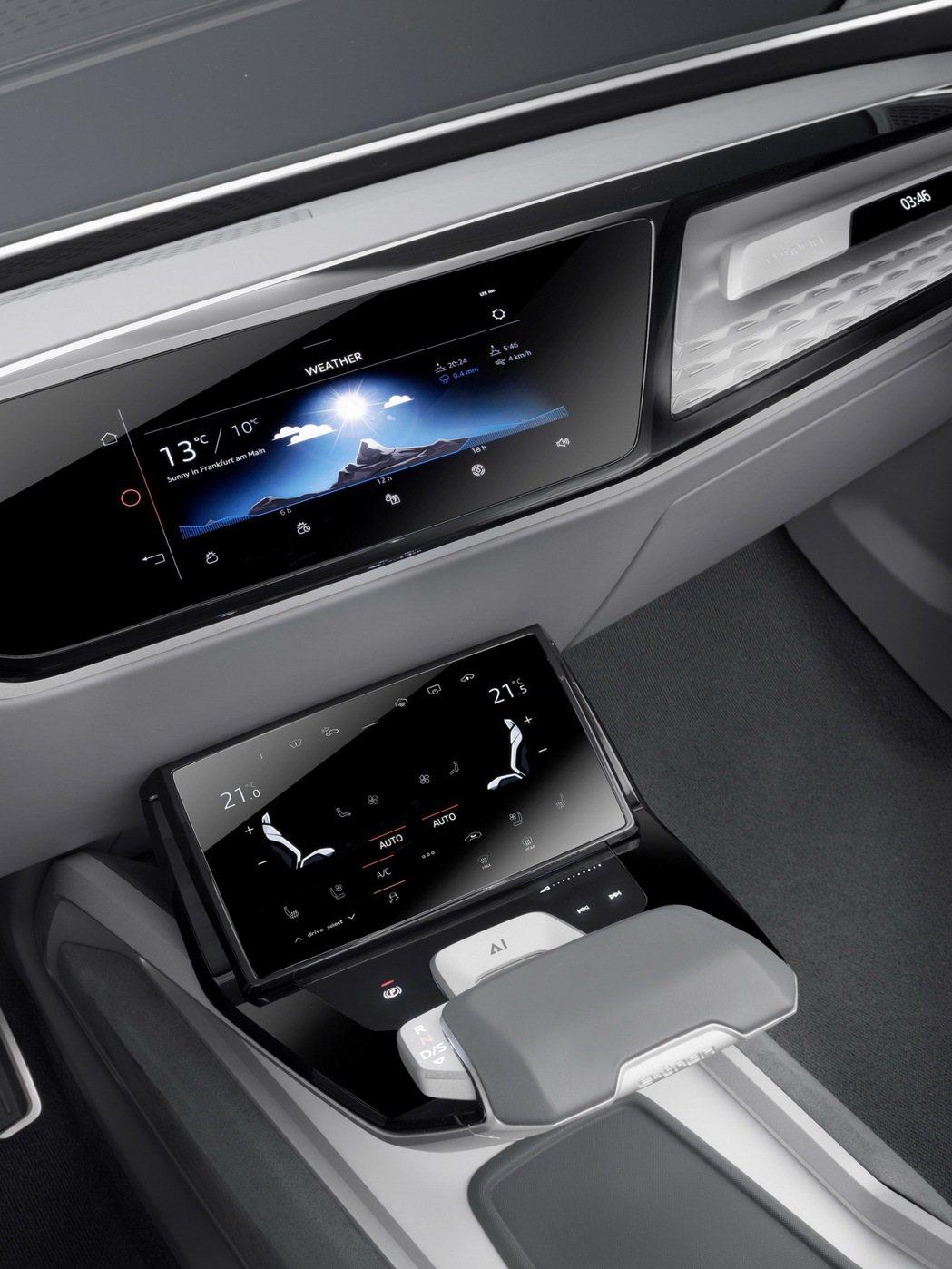 Audi Elaine個人化智慧秘書會間接熟悉該駕駛者的習慣如偏好的車室內溫度、行駛在高速公路上習慣保持的安全距離,在後續行駛中給予駕駛者合適的協助。 圖/台灣奧迪提供