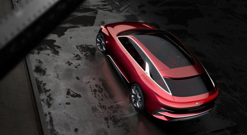 KIA Proceed概念車,顛覆世人對掀背車的既定印象。 圖/森那美起亞提供