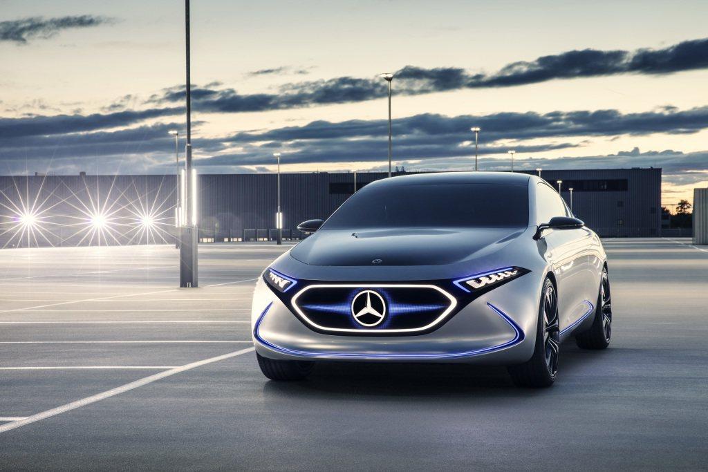 全新EQ系列作品EQ A Concept概念掀背車,終於在今年法蘭克福車展中亮相...