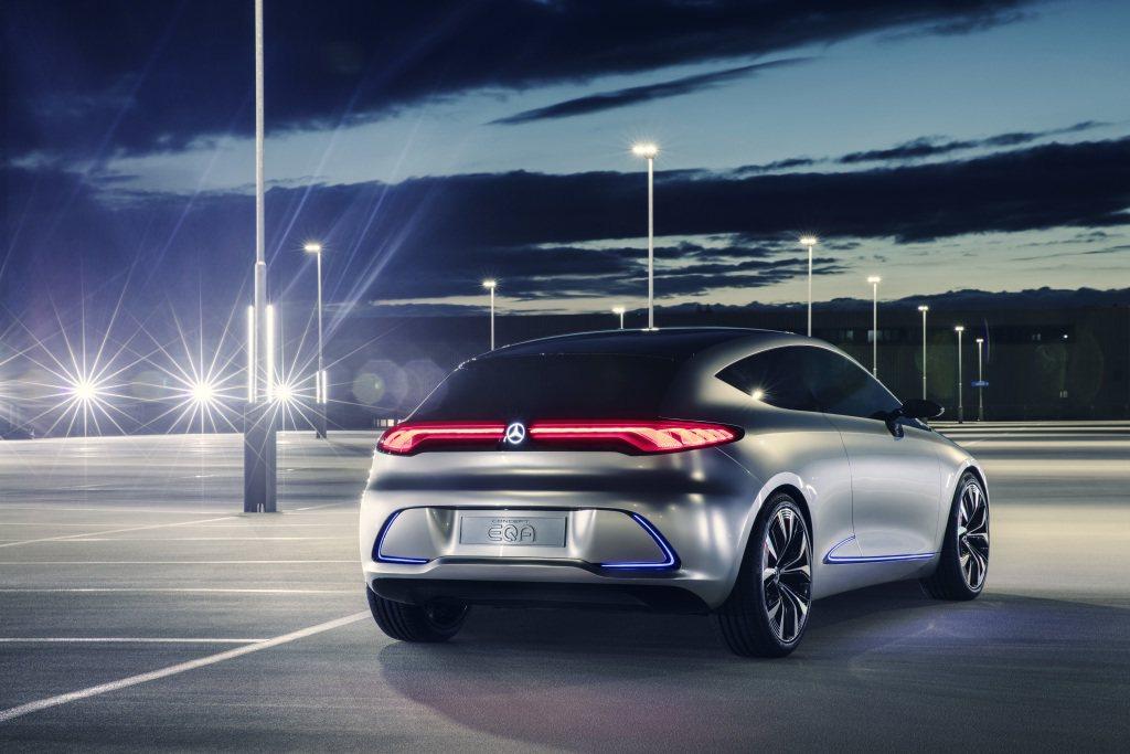 本次車展中亮相的EQ A Concept,整體造型採三門掀背設定。 圖片來源:M...