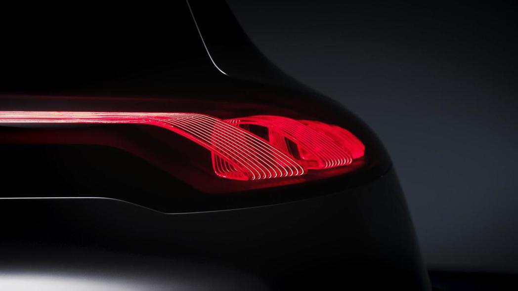 EQ A Concept也將導入最新OLED技術尾燈。 圖片來源:M.Benz