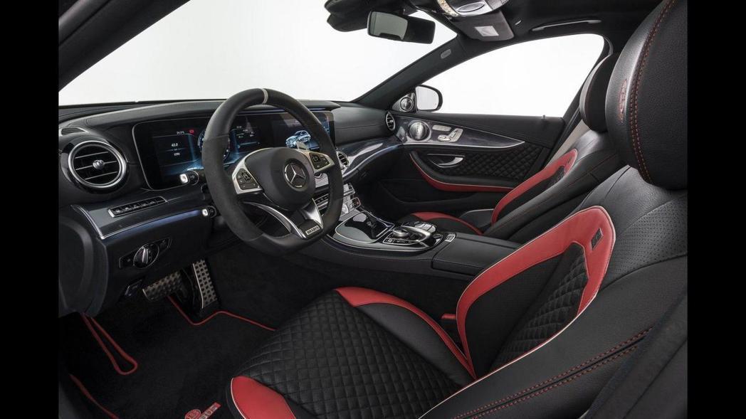 座艙內不可針對駕駛喜好,自由改變皮革顏色。 圖片來源:Brabus