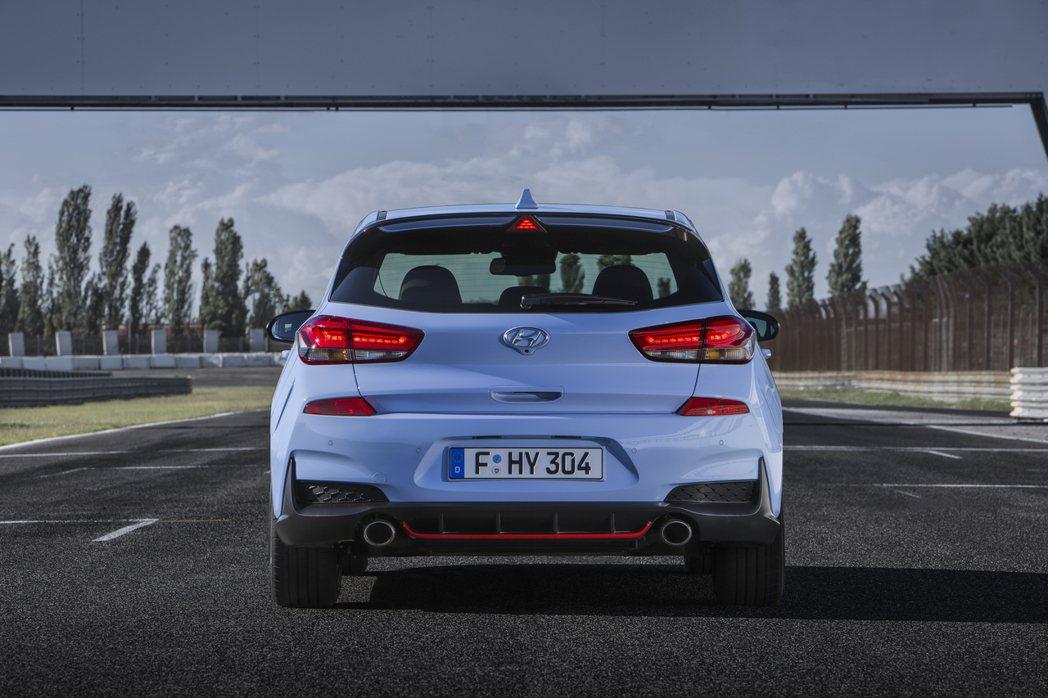 275hp車型搭載E-LSD電子式限滑差速器及可變排氣閥門系統。 圖片來源:Hyundai