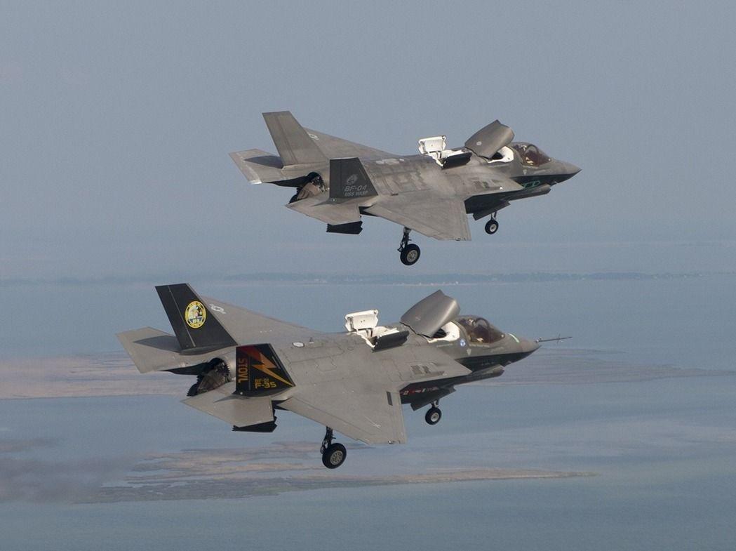 F-35B戰機。圖/洛克希德馬丁公司