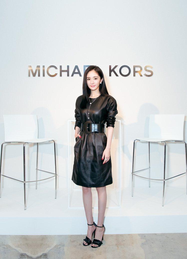 楊冪成為MK首位全球代言人。圖/MICHAEL KORS提供