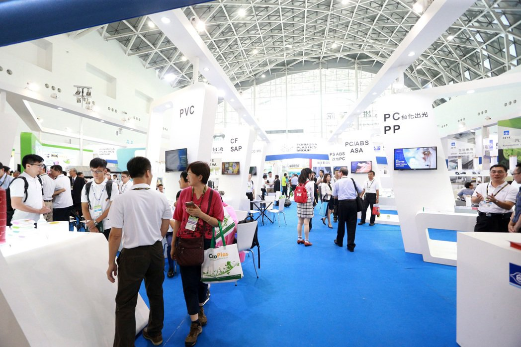 台灣國際水展展出許多省水科技。記者劉學聖/攝影