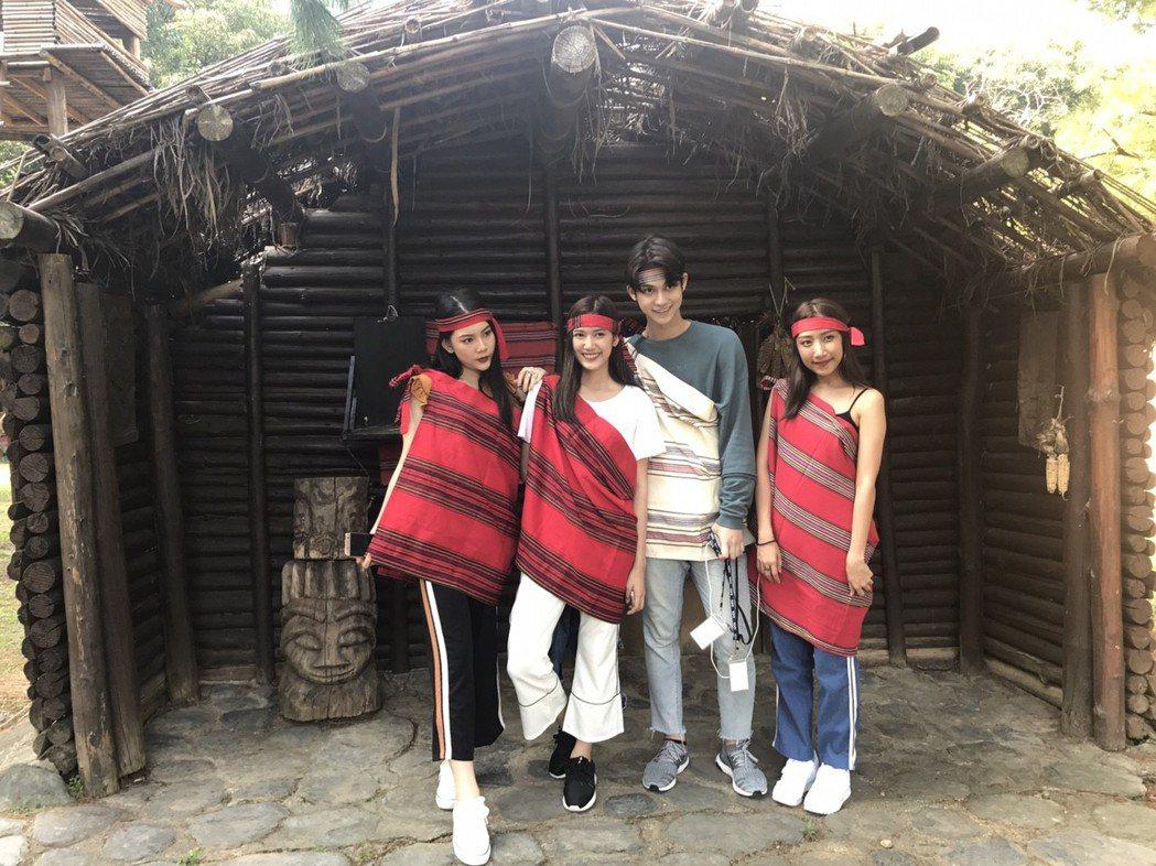 越南和泰國超人氣踩線團造訪泰雅渡假村,園方盼能刺激且開拓東南亞觀光市場。圖/泰雅...