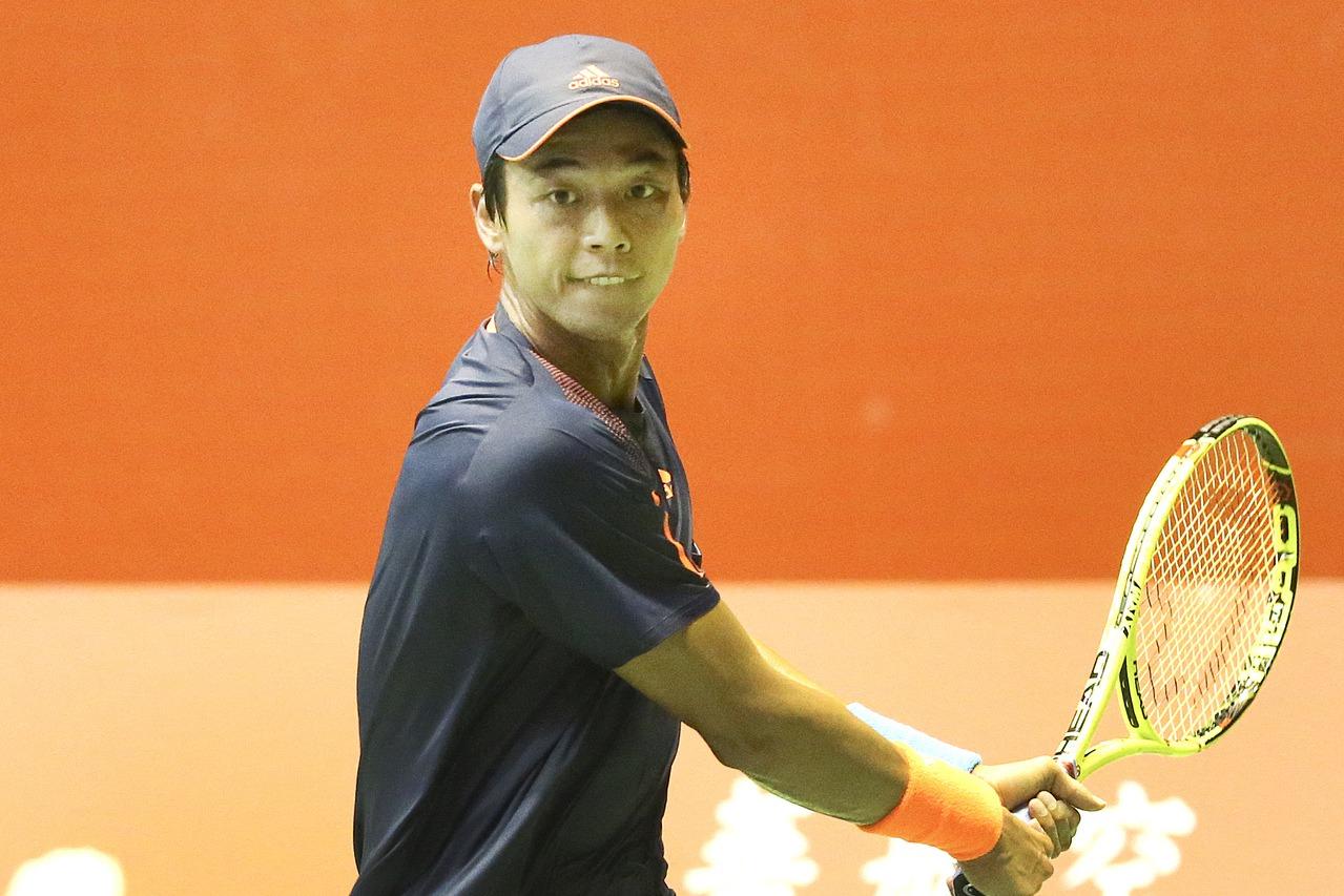 盧彥勳退出在高雄舉行的海碩盃挑戰賽。 聯合報系資料照 記者黃威彬/攝影