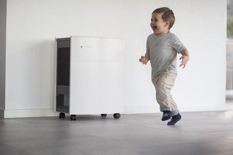 Blueair空氣清淨機推周年慶優惠。圖/來思比科技提供