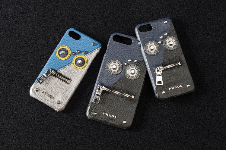 PRADA機器人手機殼9,000元。圖/PRADA提供