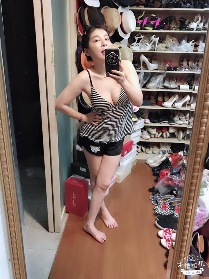 王彩樺身材維持有一套。圖/摘自王彩樺臉書