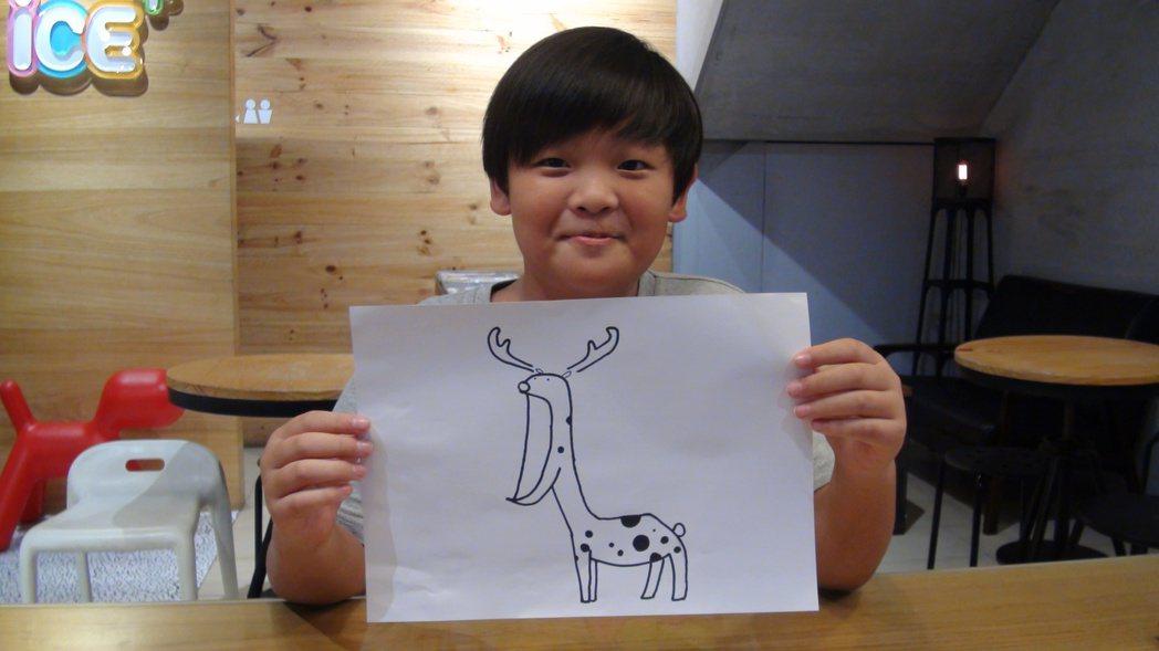 小五生吳培瑋創作的「掉下巴」系列貼圖已經上架,是國內年紀最輕的line貼圖作者。...