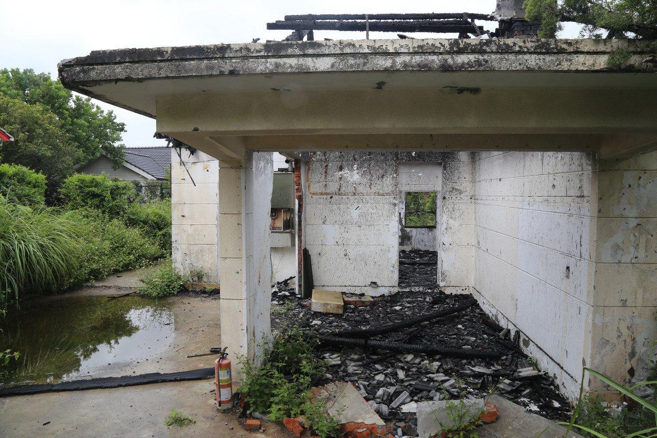 陽明山美軍宿舍災後修復 一拖半年