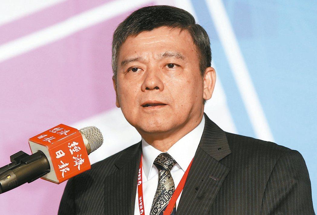 櫃買中心副總經理黃炳鈞。 記者林俊良/攝影
