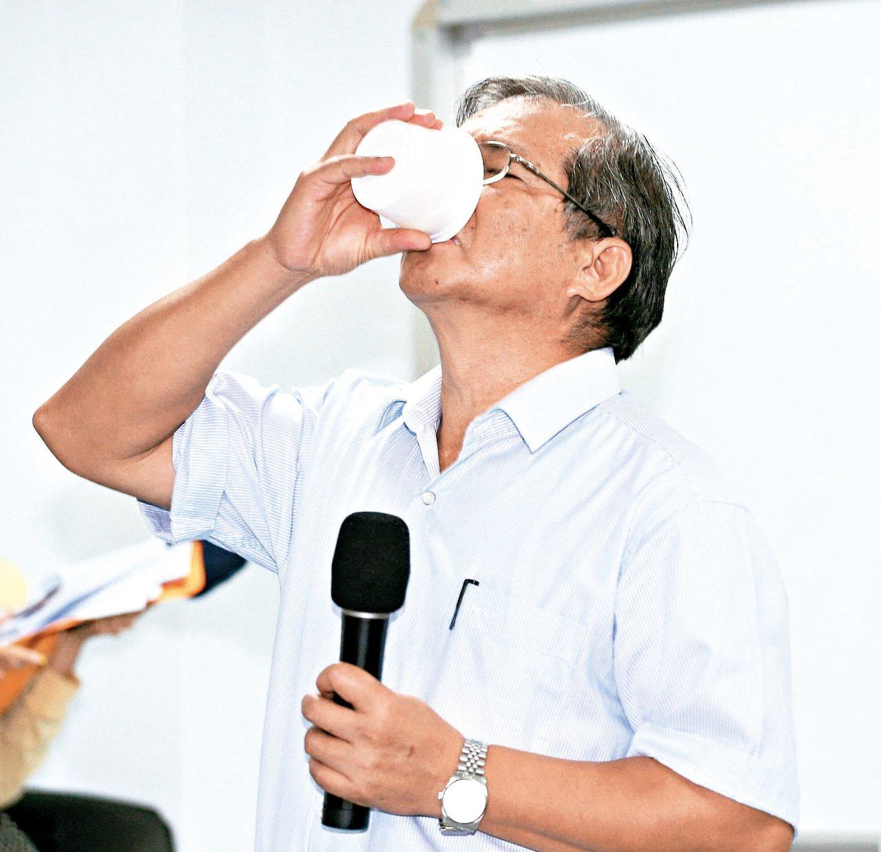 強冠油品公司董事長葉文祥。 報系資料照