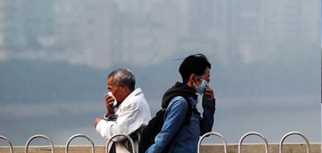 霧霾不僅會減少壽命,還會讓人變醜,影響人類生殖能力。 (鳳凰網)