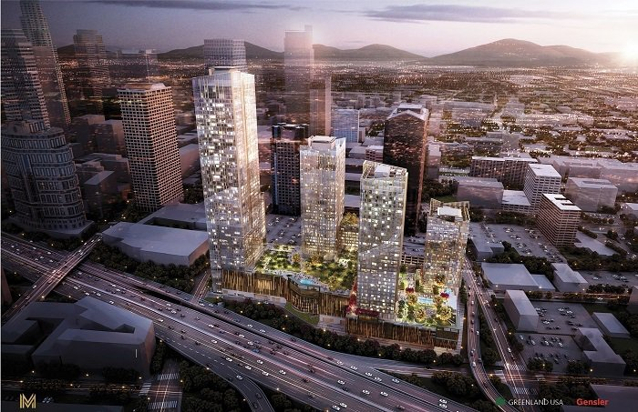 METROPOLIS位處洛杉磯Downtown核心區,緊鄰金融區與娛樂賽事區,步...