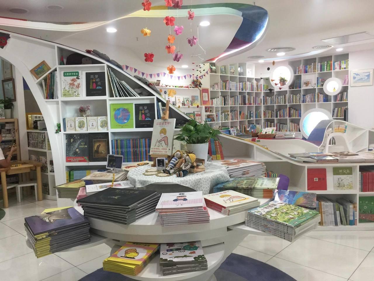 北京蒲蒲蘭繪本館,是中國第一間繪本專門書店。