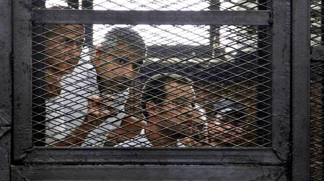 #FreeAJStaff:新聞不是罪!  圖/美聯社