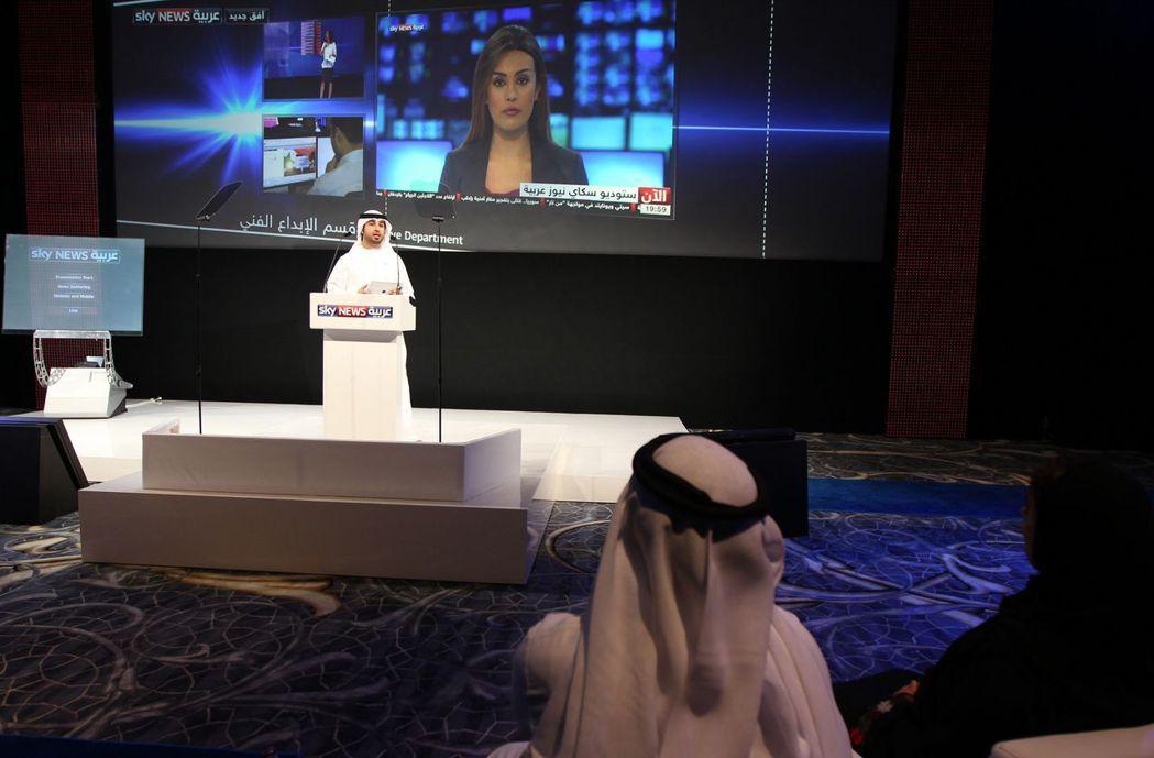 MBC集團與梅鐸集團共同成立「Sky News Arabia」了,雙面包夾半島,...
