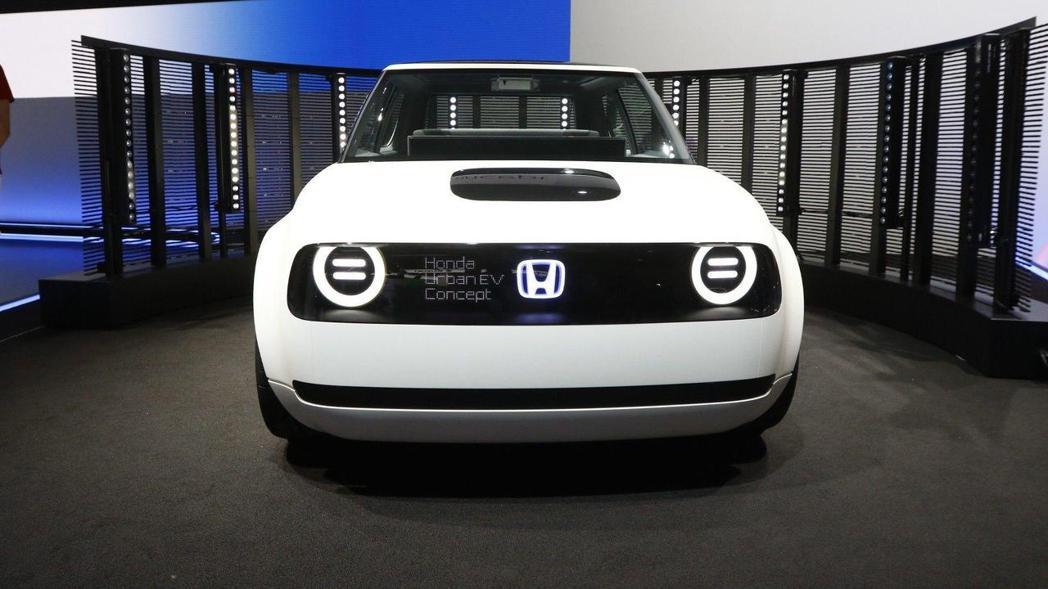 Honda全新電動概念車。 摘自Honda