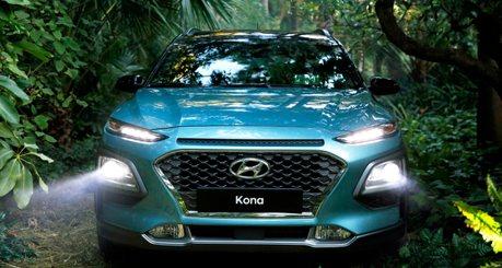續行距離不容小覷 純電版Hyundai Kona 將在日內瓦車展亮相