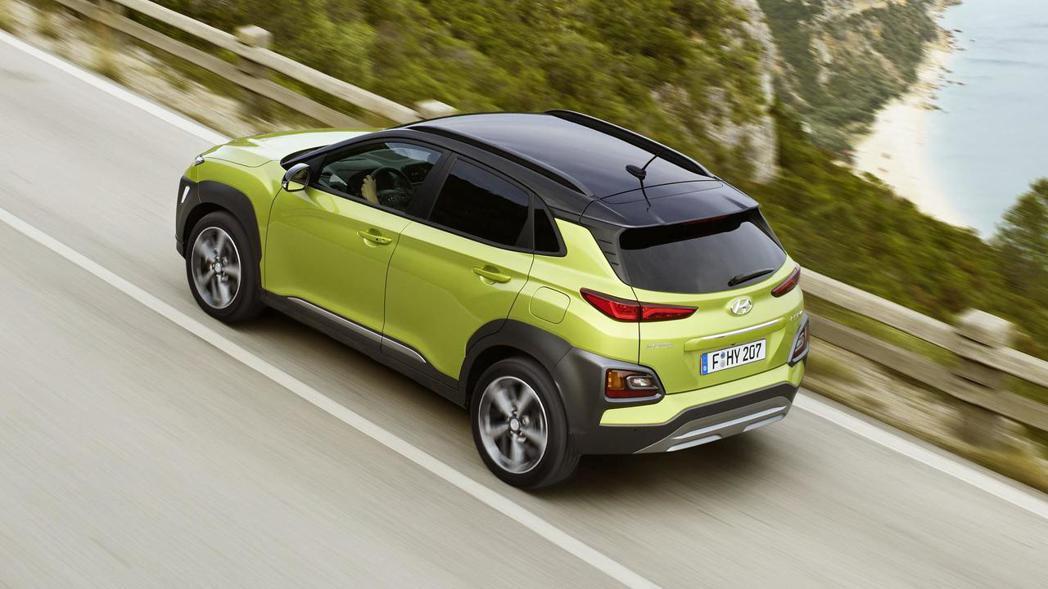 Hyundai Kona在歐洲會有柴油車車型。 摘自Hyundai