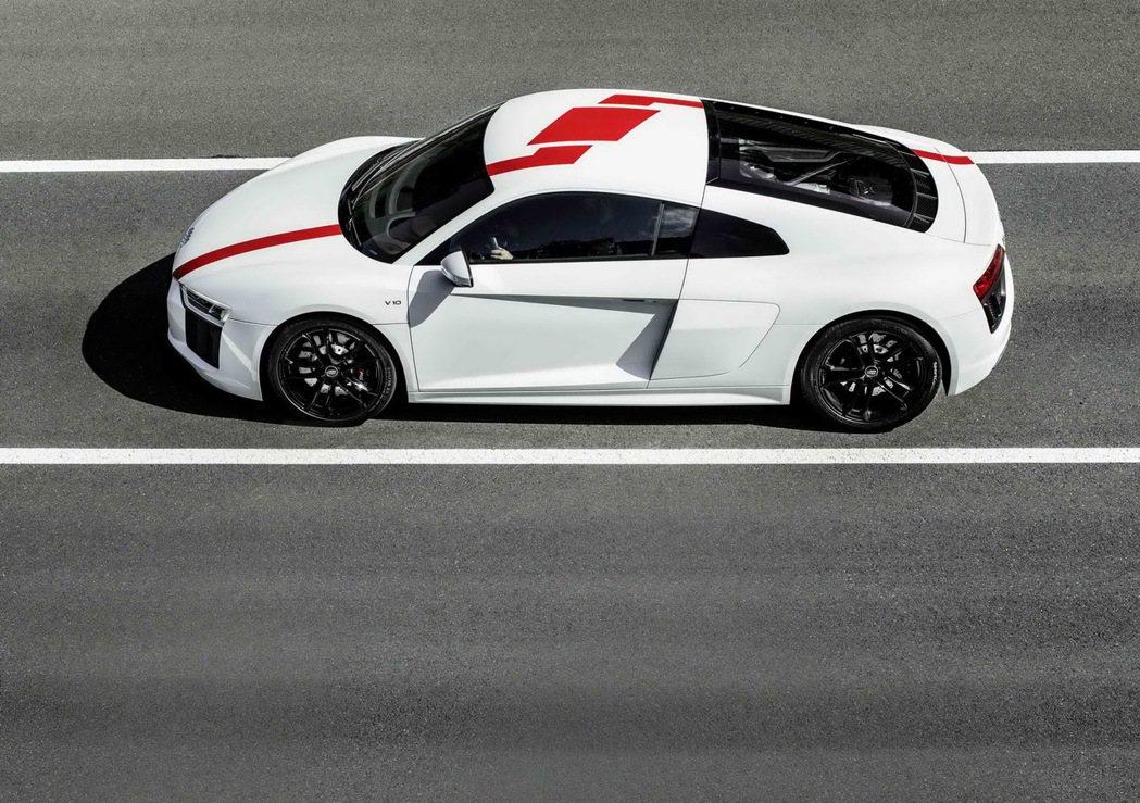 Audi R8 RWS精準定義「源自賽道、為速度而生」的宗旨。 圖/台灣奧迪提供