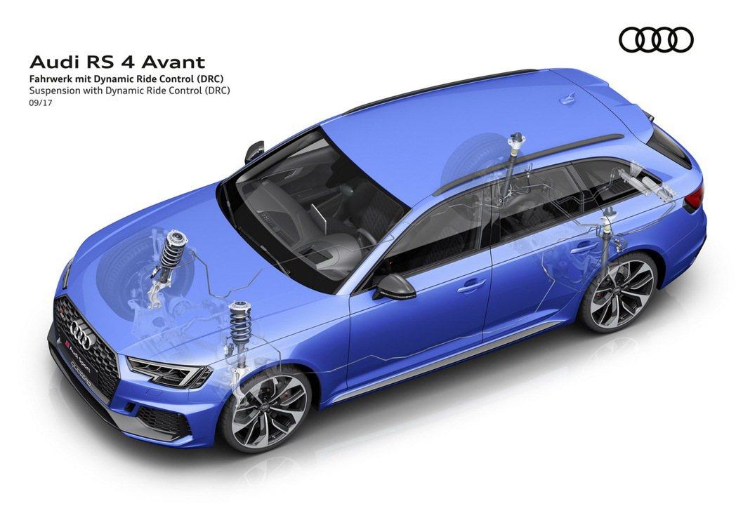 全新Audi RS 4 Avant 0~100km/h加速僅需4.1秒完成,極...