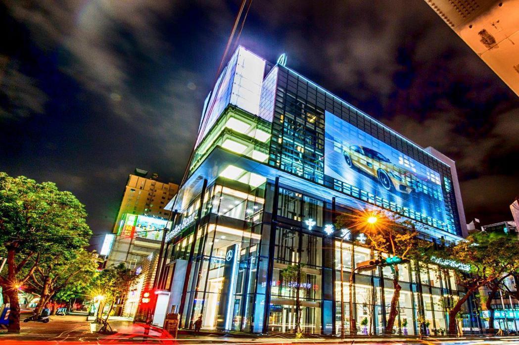 中華賓士台中 AMG Performance Center。圖/台灣賓士提供