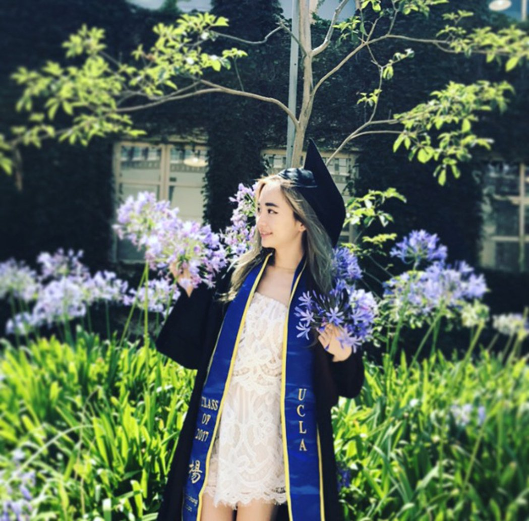 Jessica今年從UCLA畢業。 圖片提供/Jessica
