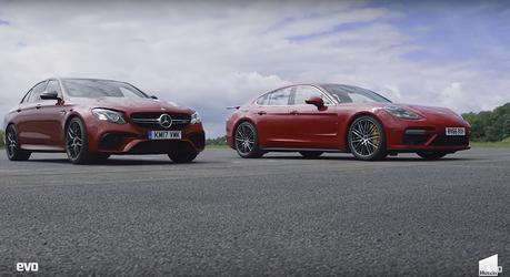 (影音)Porsche 與 Mercedes-AMG 四驅轎跑高速拼輸贏!