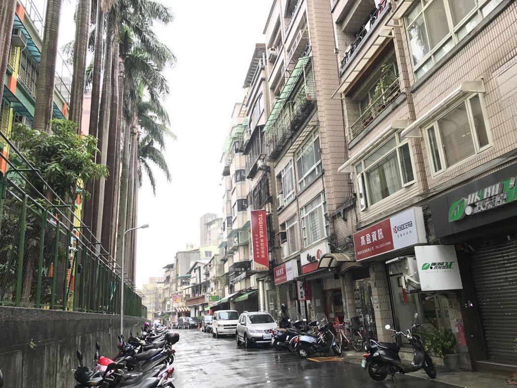 中正區臨沂街街景。記者游智文/攝影
