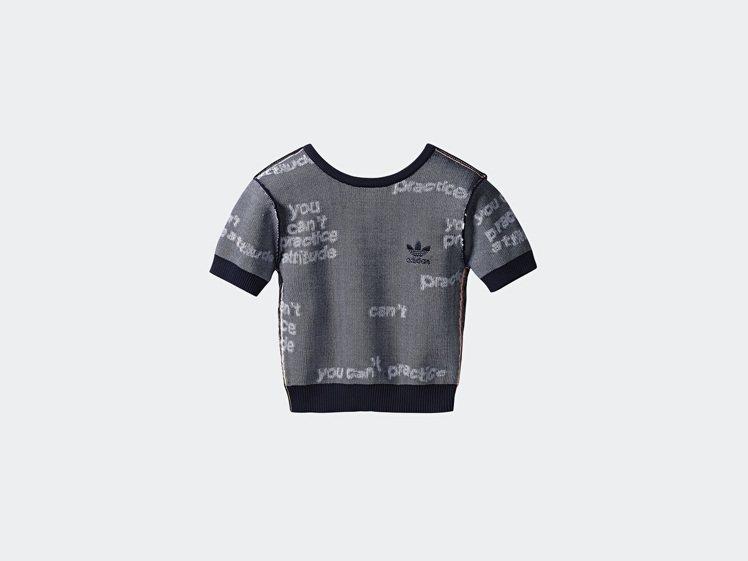 Tubular系列短袖上衣,2,490元。圖/adidas Originals提...