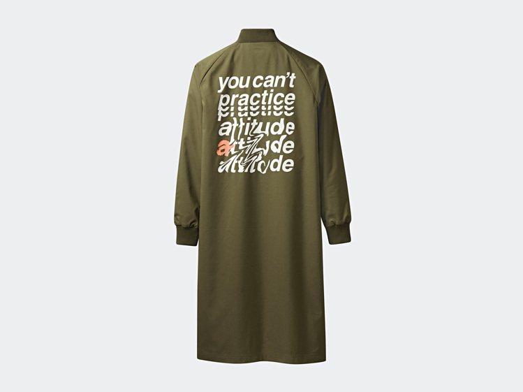 Tubular系列長版外套4,690元。圖/adidas Originals提供