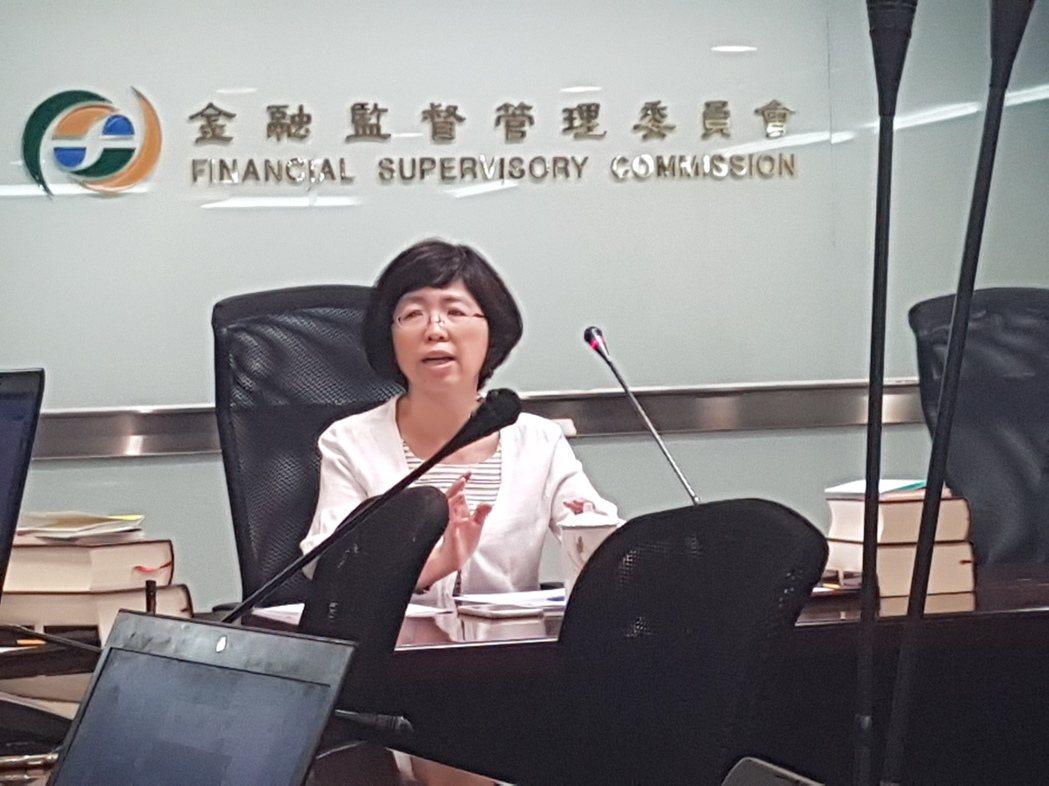 金管會銀行局副局長莊琇媛。記者孫中英/台北報導