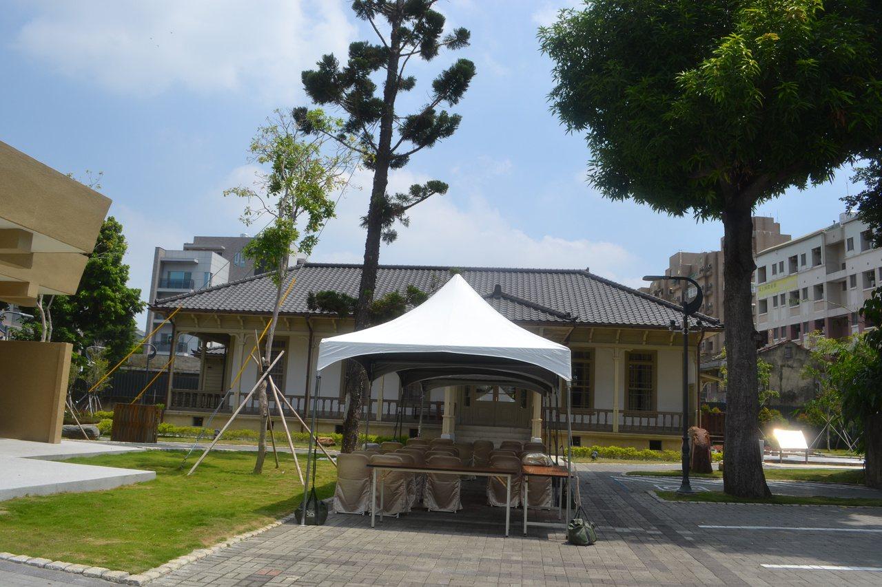原本未對外開放的台南市長官邸,改為定期開放,讓人民親近文化財。記者鄭惠仁/攝影