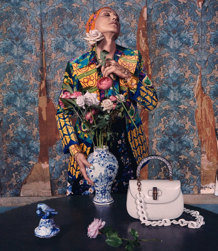 Gucci 2018早春廣告。圖/Gucci提供