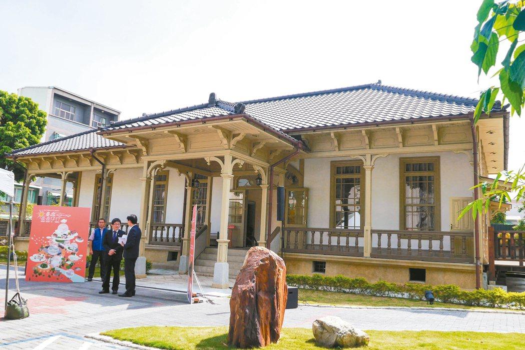 日據台南州廳長官邸去年修復作為台南市長接待外賓處所,限定9月16日及17日開放參...