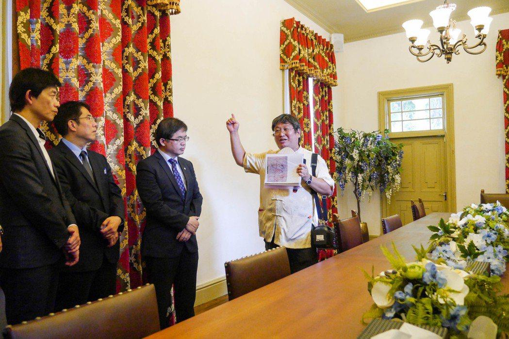 日治台南州廳長官邸去年修復作為台南市長接待外賓處所。 記者鄭維真/攝影