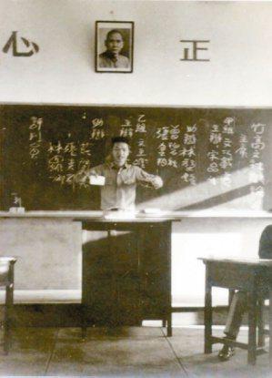 就讀於竹山高中的少年向陽。 ◎向陽/圖片提供