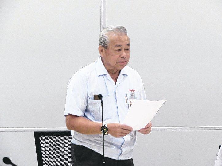 中國鑛冶工程學會榮譽理事及SOFC委員會主任委員朱秋龍擔任主席。 翁永全/攝影